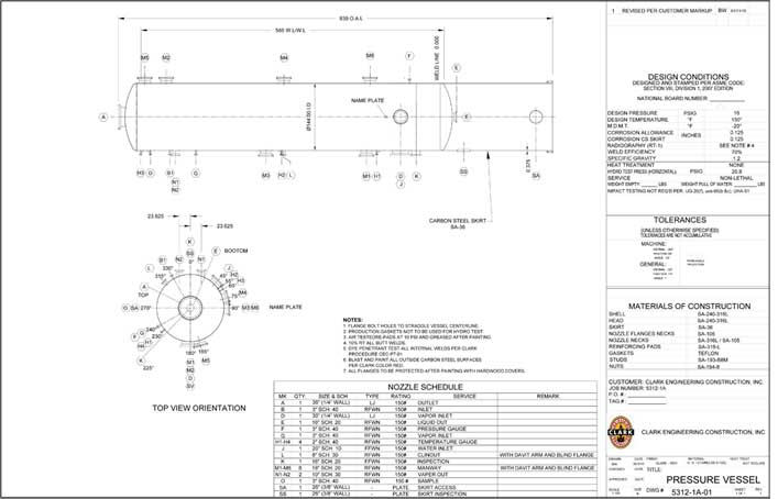 process engineering design pressure vessel The example design elements - vessels was created using the conceptdraw pro diagramming and vector drawing software extended with the chemical and process engineering solution from the engineering area of conceptdraw solution park.